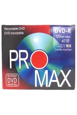 Picture of PROMAX DVD-R 120MIN 10 PK
