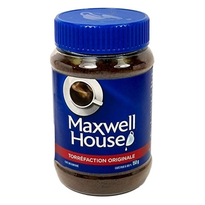Picture of STASH CAN MAXWELL HOUSE 150G